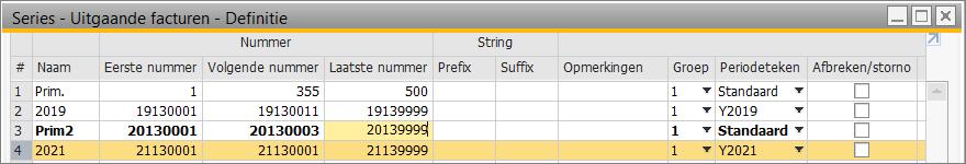 SAP - uitgaande facturen 6